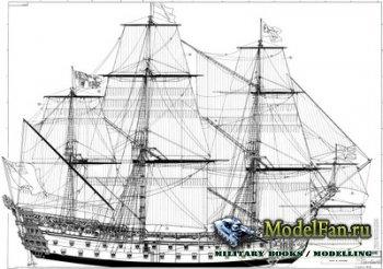 Чертежи кораблей (Royal William, Victory, Le Soleil Royal, Royal Louis, Santisima Trinidad, French, Goto...